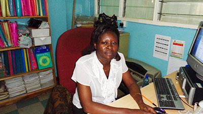 Ms. Hellen A. Ouko - Accounts Clerk - (COWU-K)